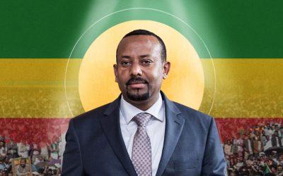 Le premier ministre éthiopien, Abiy Ahmed, Prix Nobel de la paix