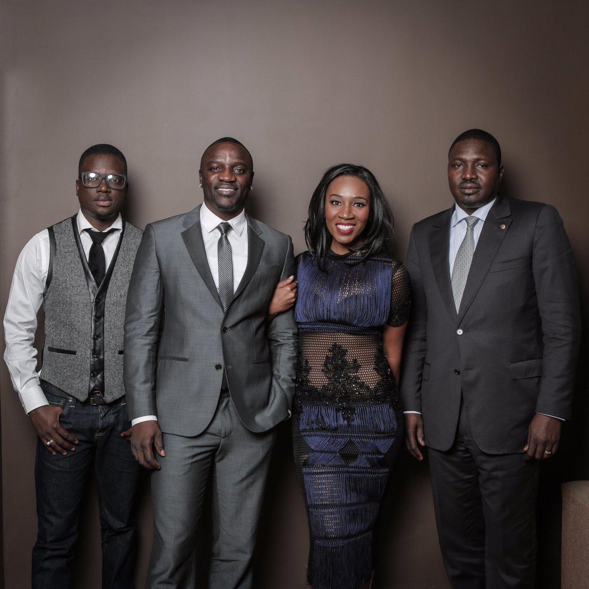 Thione Niang et Akon