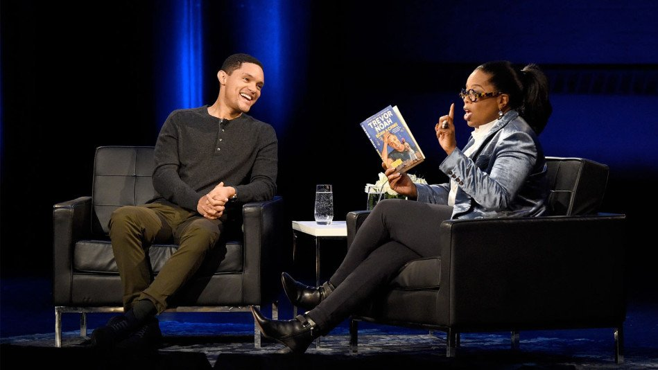 Trevor Noah Tells Oprah What He Learned from His