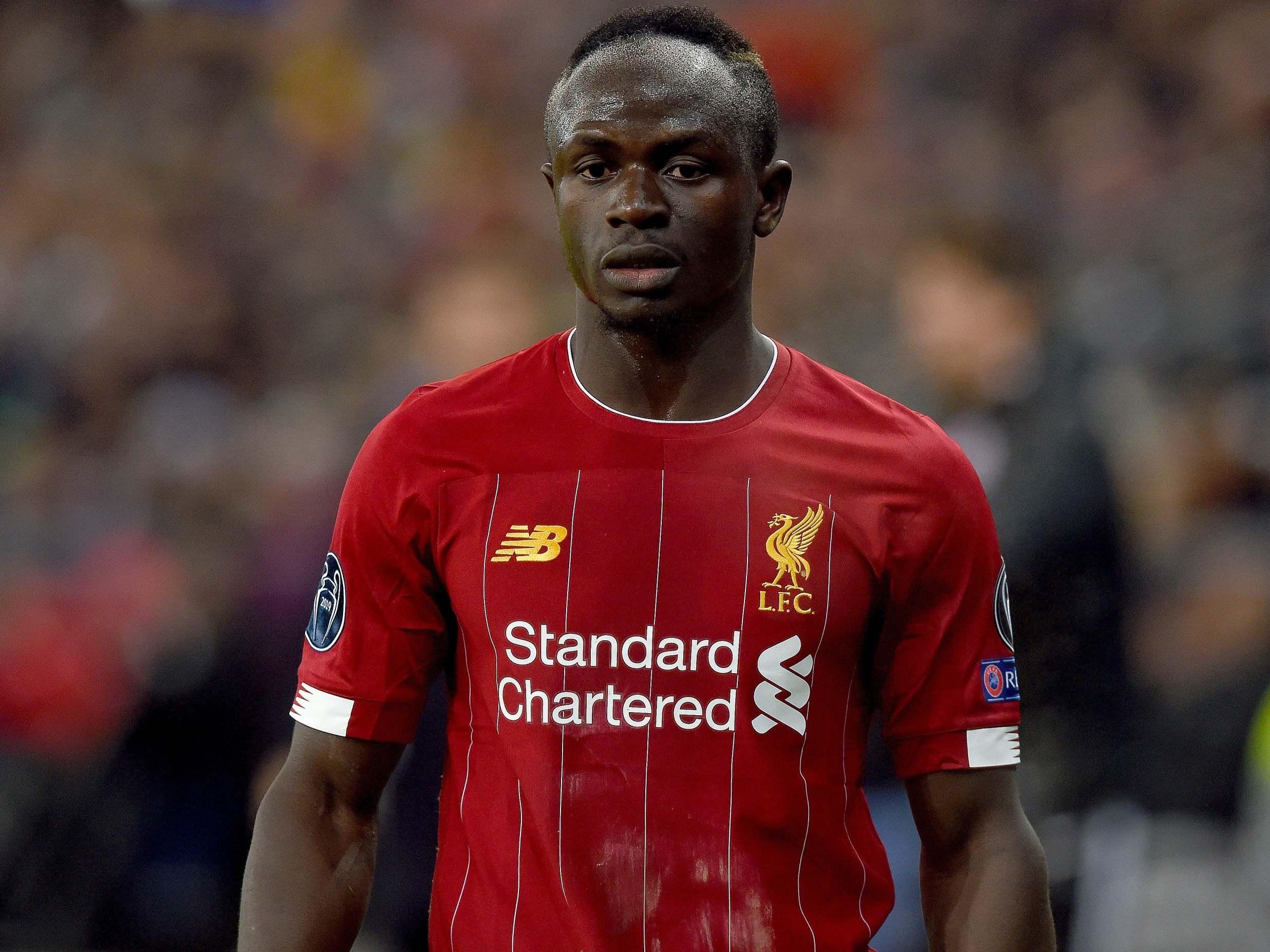 Sadio Mané en Liverpool